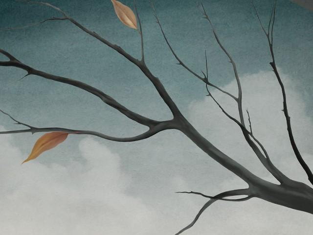Ramo in autunno