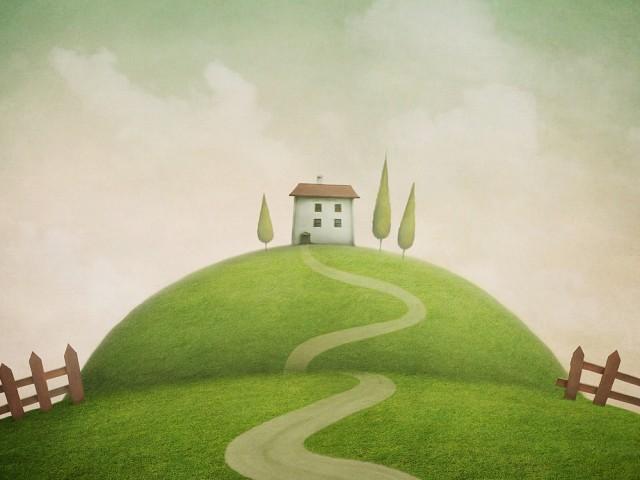 Casa sulla collina