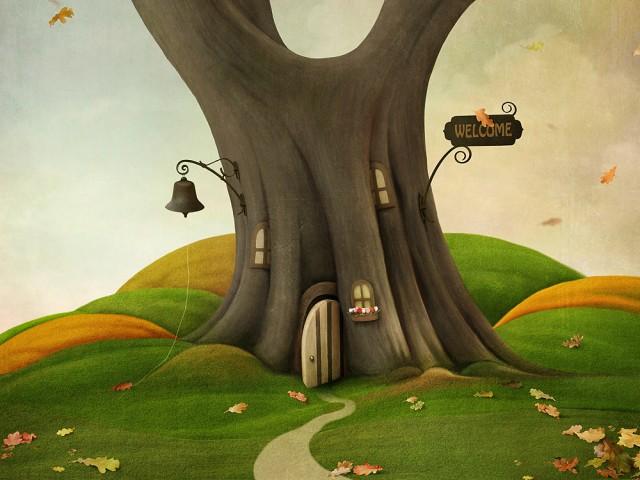 Casetta nell'albero